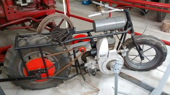 The Pallot Steam, Motor & General Museum: Agricultural motorbike!?