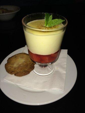 Fitzwilton Hotel: Dessert