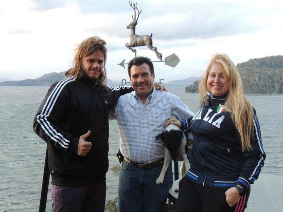 Charming - Luxury Lodge & Private Spa: Alberto entre nós!!!