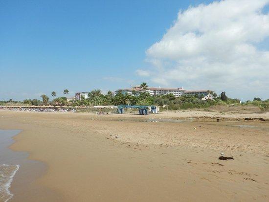 Defne Garden: Strandbereich