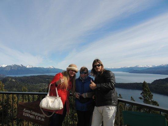 Cerro Catedral Ski Resort: Eu, Mario Ninet e Murilo!!!