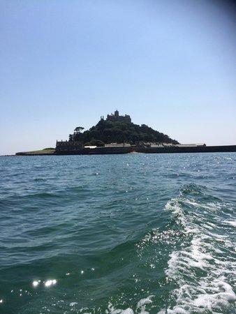 St. Michael's Mount: Leaving via a boat