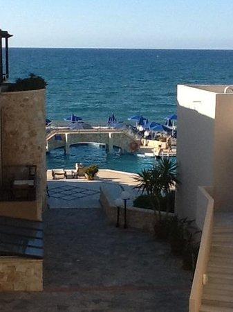Indigo Mare: udsigt fra terrassen i nr. 212