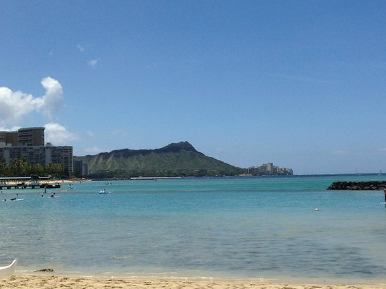 The Modern Honolulu : View of Diamond Head  - a short walk from the hotel