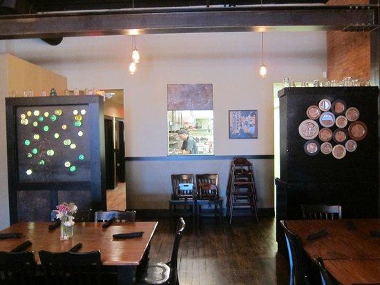 El Moro Spirits & Tavern: Looking back towards the kitchen