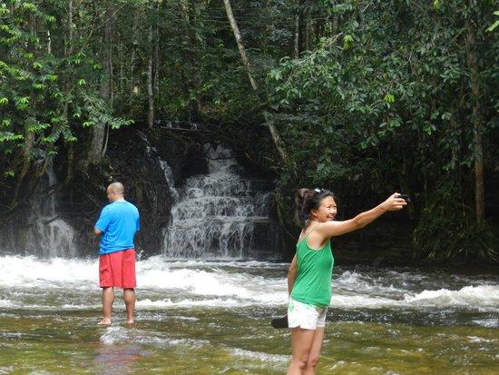 Cachoeira de Iracema: cascata
