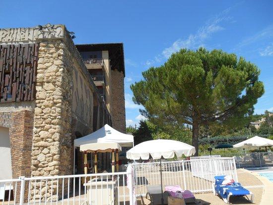 Castel Luberon: Het hotel