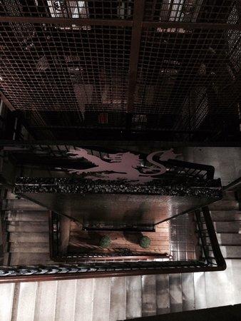 Abode Glasgow: Seriously impressive stairwell