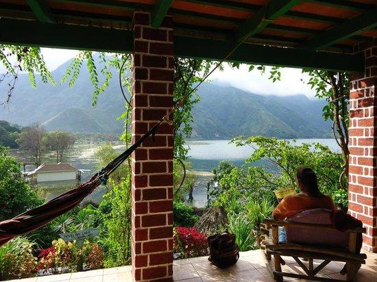 Area De Estar Picture Of Eco Hotel Uxlabil Atitlan San Juan La