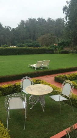 Taj Savoy Hotel, Ooty: View from the room