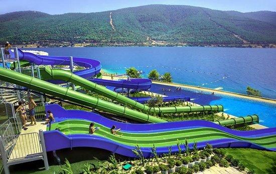 La Blanche Island Bodrum: Aquapark
