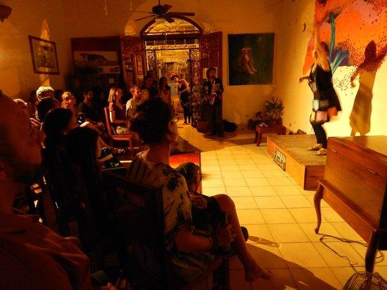 Café de los Sueños: Eventos de Arte