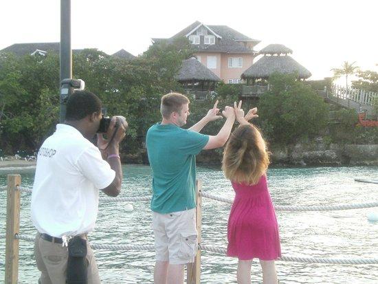 Sandals Ochi Beach Resort: Great Photo opportunities!