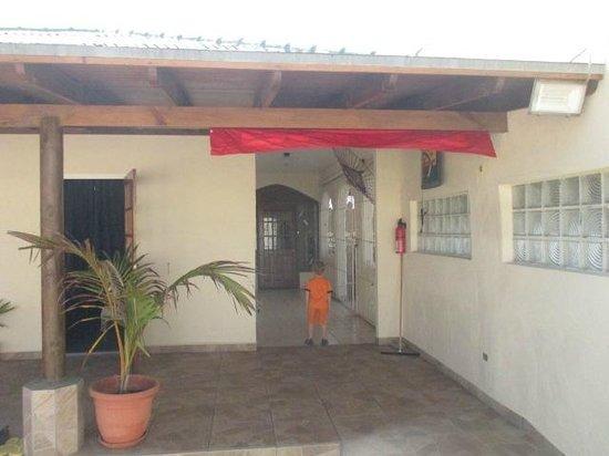 Kite-Inn : The entrance