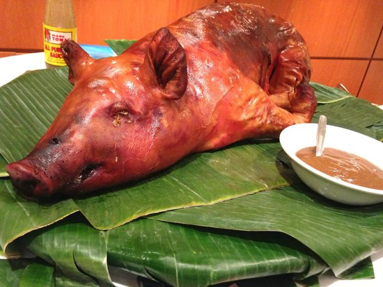 Lutong Pinoy Filipino Restaurant: They do Whole roast pigs for events and parties. Yummmmmyy