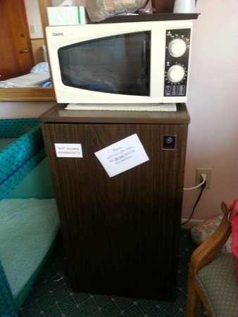 Buckingham Motel: Very very outdated appliances