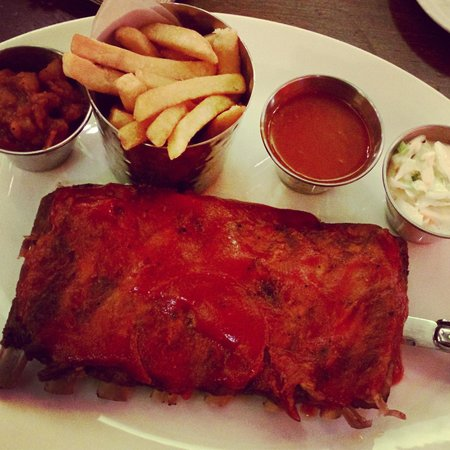 Hard Rock Cafe: The Best Ribs