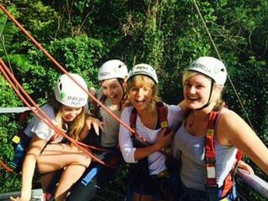 Jungle Surfing Canopy Tours: Jungle surfing!
