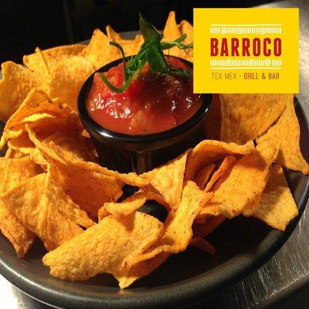 Barroco Tex Mex: Salsa & Chips