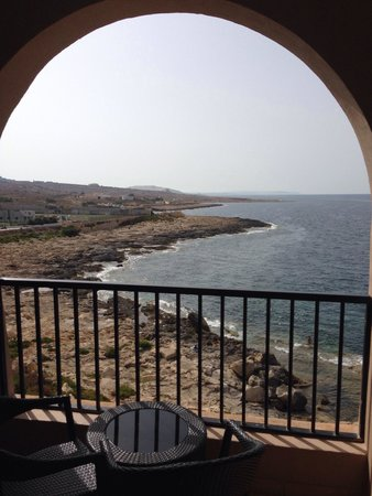 Radisson Blu Resort, Malta St Julian's: The view from my room.