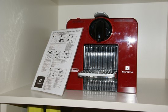 Hotel&Villa Auersperg: Nespresso machine in room but coffee is not complimentary.