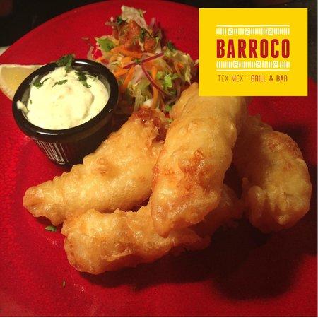 Barroco Tex Mex: Tempura Cod