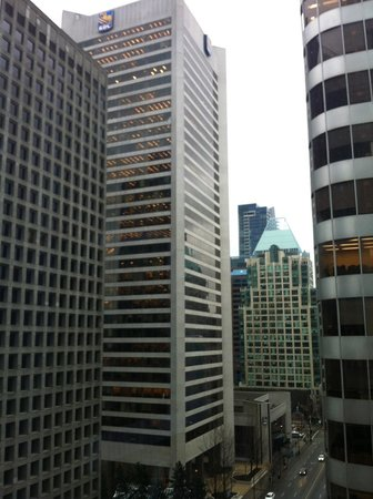 Shangri-La Hotel, Vancouver : View from Room of Downtown Vancouver