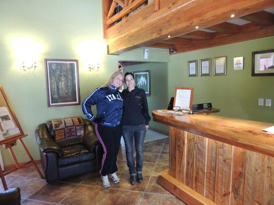 Charming Luxury Lodge & Private Spa: Eu E Maria José!