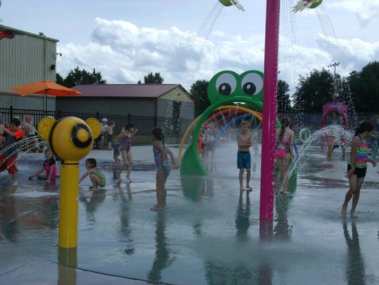 ‪‪Mount Juliet‬, ‪Tennessee‬: splash pad‬
