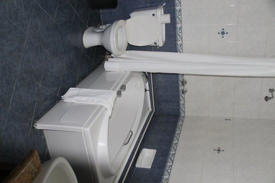 Impala Hotel: bathroom