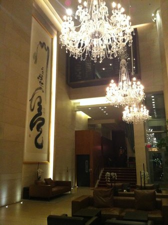 Shangri-La Hotel, Vancouver: Magnificent Lobby