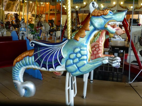 Merry-Go-Round Museum : Seahorse carousel figure