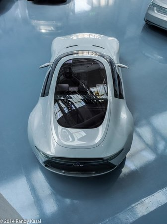 Saab Car Museum Aero X Concept From Above