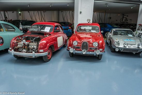 Saab Car Museum What Beauties
