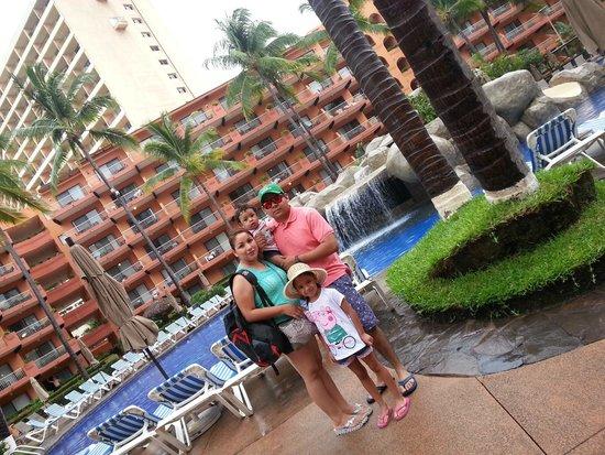 Villa del Palmar Beach Resort & Spa : la alberca