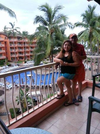 Villa del Palmar Beach Resort & Spa: balcon