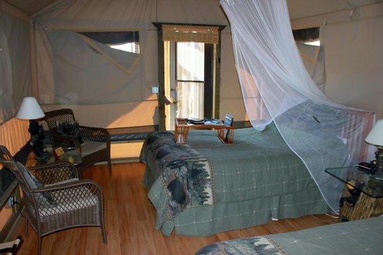 Vision Quest Safari Bed & Breakfast: room towards front door