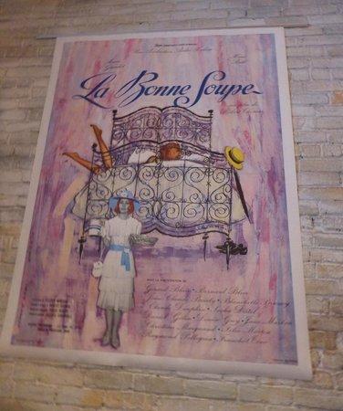 La Bonne Soupe : wall art