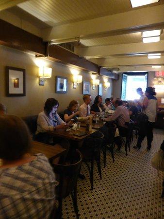 La Bonne Soupe : dining room