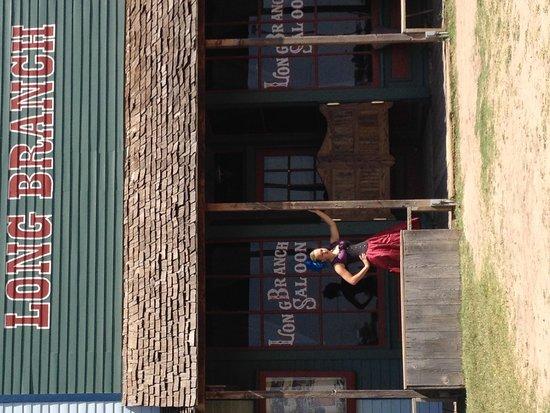 Boot Hill Museum: Long Branch Saloon girl