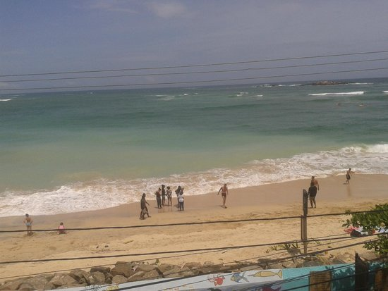 Hotel Dhammika: view from balcony