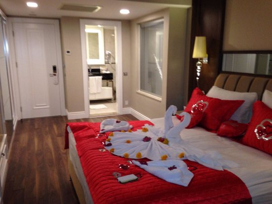 Alva Donna Exclusive Hotel & Spa: Our room for honeymoon