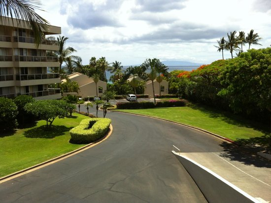 Aston at the Maui Banyan : From atop the parking structure.