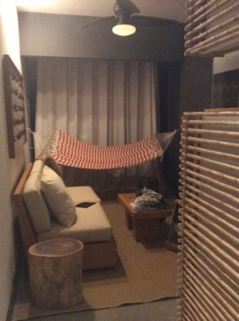 """El Mangroove, Autograph Collection : Our """"outdoor"""" seating area.  It was nice to have a separate seating area."""