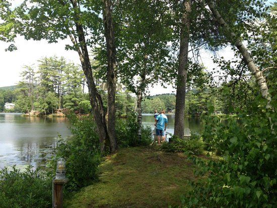 Lakeside Cottage Rentals: view of peninsula