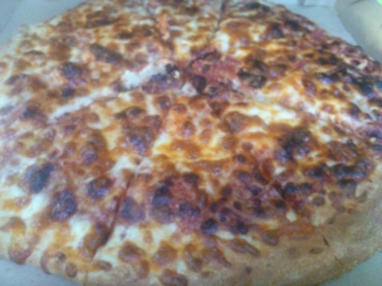 Little Caesars : My burnt pizza.