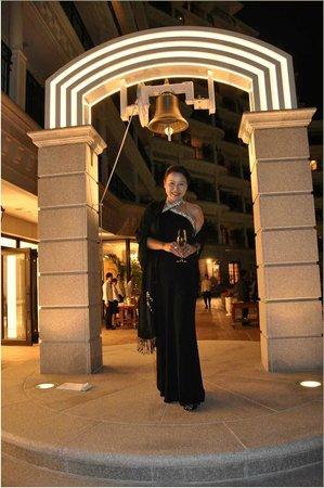 Hotel La Suite Kobe Harborland : ロビーテラス