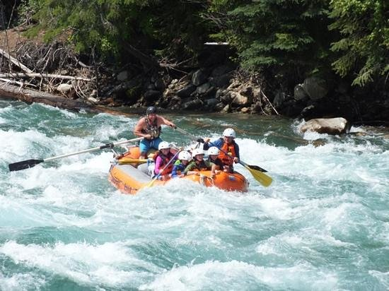 Lardeau River Adventures : August 7th 2014 - Rafting the Lardeau in BC.