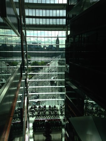 Park Plaza Westminster Bridge London : View from elevator lobbies