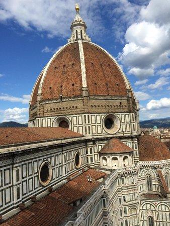 Cupola del Brunelleschi: 思い切って登ってよかった。疲れた後の眺めは最高